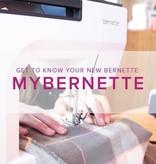Modern Domestic MyBernette: Machine Owner Class, Lake Oswego Store, Saturday, September 14, 2-4pm