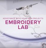 Modern Domestic MyBERNINA: Machine Embroidery Lab, Alberta St. Store, Sunday, September 15, 10am-12pm
