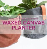 Rebekah Fink Learn to Sew: Waxed Canvas Planter, Lake Oswego Store, Sunday, November 17, 10am-1pm