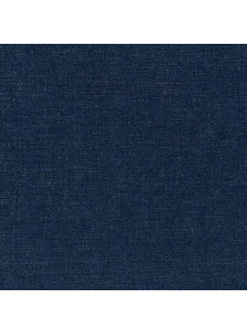 Robert Kaufman Cotton Linen Indigo Denim 6 oz
