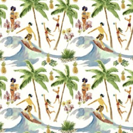 Mini Tropical Surf's Up