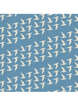 Cotton + Steel By the Seaside by Loes Van Oosten Fly Along Sky