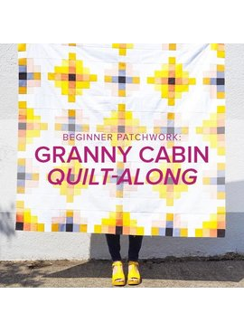 Rebekah Fink CLASS IN SESSION Beginner Patchwork: Granny Cabin Quilt, Alberta St Store,  Monday, September 23, 30, October 14, & 21, 6-8:30pm