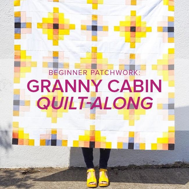 Rebekah Fink Beginner Patchwork: Granny Cabin Quilt, Alberta St Store,  Monday, September 23, 30, October 14, & 21, 6-8:30pm