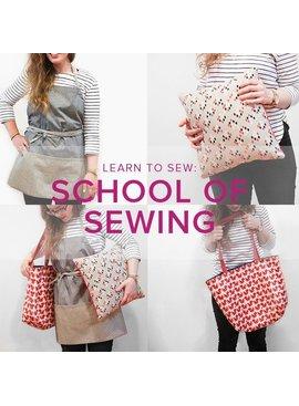Karin Dejan Learn to Sew: School of Sewing, Alberta St. Store, Sundays, September 22, 29, October 6 & 13, 6-8:30 pm