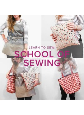 Karin Dejan Learn to Sew: School of Sewing, Lake Oswego Store, Tuesdays, September 24, October 1, 8 & 15, 6-8:30 pm