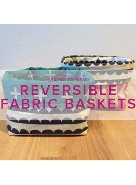 Karin Dejan Learn to Sew: Reversible Fabric Basket, Alberta St Store, Sunday, October 20, 6-9pm