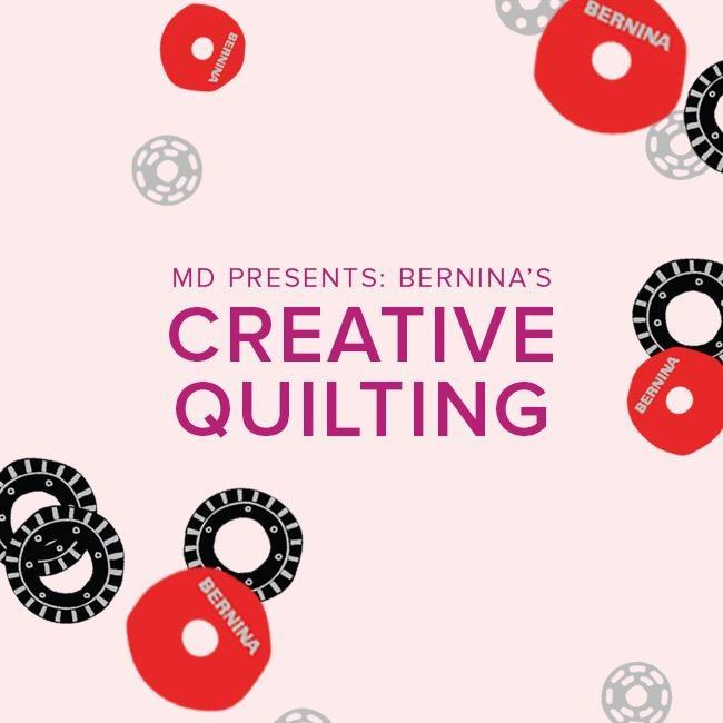 Modern Domestic BERNINA Creative Quilting Event, Lake Oswego Store, Sunday, September 15, 1-4pm