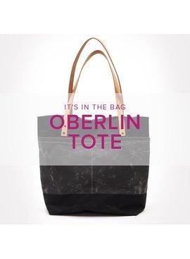 Jaylin Redden-Hefty CLASS IN SESSION Oberlin Tote Bag, Lake Oswego Store, Sundays, November 10 & 17, 4:30-7:30pm