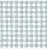 Cotton + Steel Meadow by Rifle Paper Co. Painted Gingham Slate