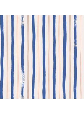 Cotton + Steel Meadow by Rifle Paper Co. Stripes Blue