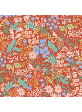 Cotton + Steel Meadow by Rifle Paper Co. Meadow Red
