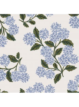 Cotton + Steel Meadow by Rifle Paper Co. Hydrangea Cream