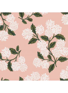 Cotton + Steel Meadow by Rifle Paper Co. Hydrangea Blush