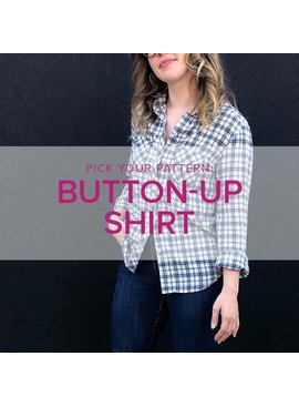 Erica Horton Pick Your Pattern: Button-Up Shirt, Alberta St Store, Thursdays, November 7, 14 & 21, 6-9pm