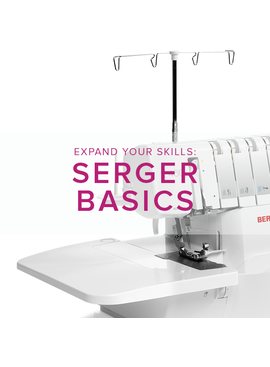 Modern Domestic MyBERNINA Serger Basic, Lake Oswego Store, Saturday, October 19, 2-4pm