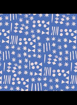 FIGO Moonlit Voyage by Amy Van Luijk Symbols Blue