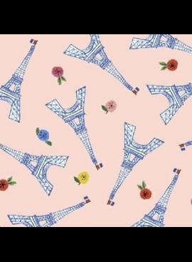 Windham Fabrics Ooh La La by Carolyn Gavin of Ecojot Eiffel Tower