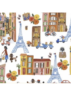 Windham Fabrics Ooh La La by Carolyn Gavin of Ecojot Parisian Scene