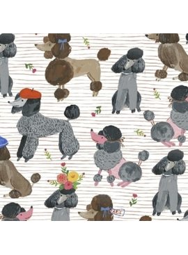 Windham Fabrics Ooh La La by Carolyn Gavin of Ecojot Poodles