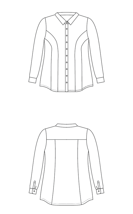 Cashmerette Patterns Cashmerette Patterns Harrison Shirt
