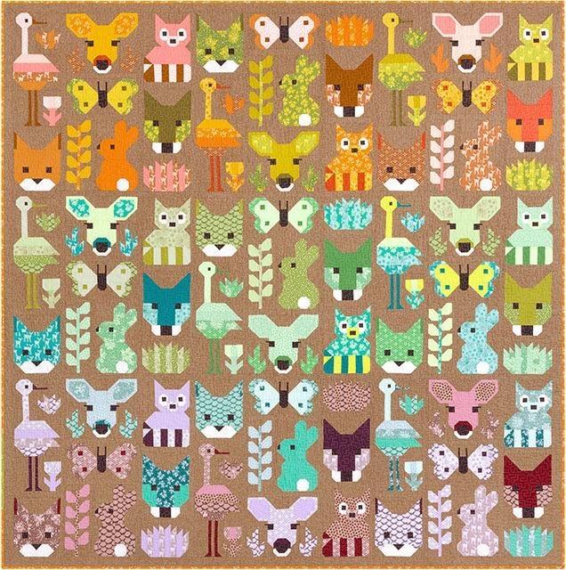 Elizabeth Hartman Delightful Desert Pattern by Elizabeth Hartman