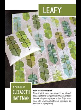 Elizabeth Hartman Leafy Quilt Pattern by Elizabeth Hartman