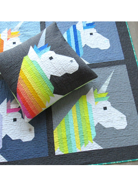 Elizabeth Hartman Lisa the Unicorn Quilt Pattern by Elizabeth Hartman