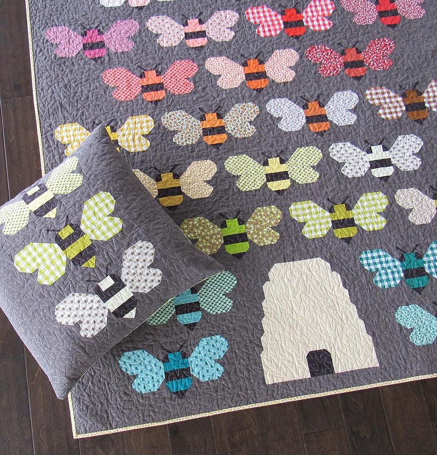 Elizabeth Hartman Beehive Quilt Pattern by Elizabeth Hartman