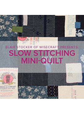 Blair Stocker CLASS FULL Slow Stitching Mini-Quilt or Wall Hanging, Lake Oswego Store, Saturday, November 16th, 10am-1pm