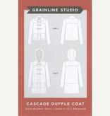 Grainline Patterns Cascade Duffle Coat Grainline Patterns