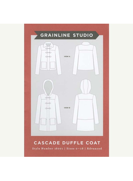 Grainline Patterns Cascade Duffle Coat Grainline Patterns