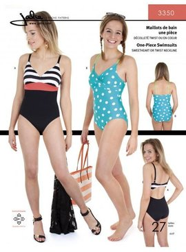 Brewer Jalie One-Piece Swimsuits
