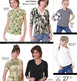 Jalie Jalie Women's T-Shirt Pattern