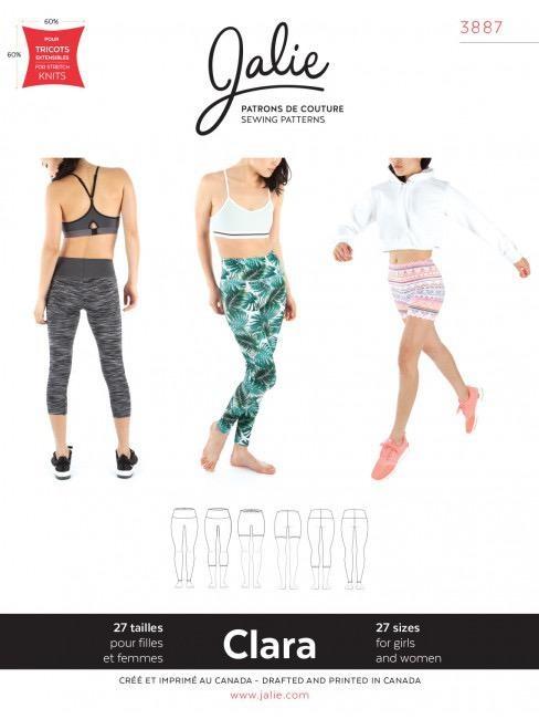 Jalie Jalie CLARA High-Waisted Leggings