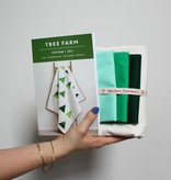Modern Domestic SALE Tree Farm Quilt Kit - Throw Size