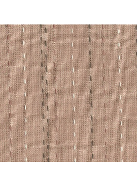 Nikko Dusty Rose Sashiko Lines