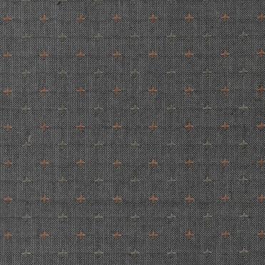 Diamond Textiles Nikko Geo Dark Grey Pluses