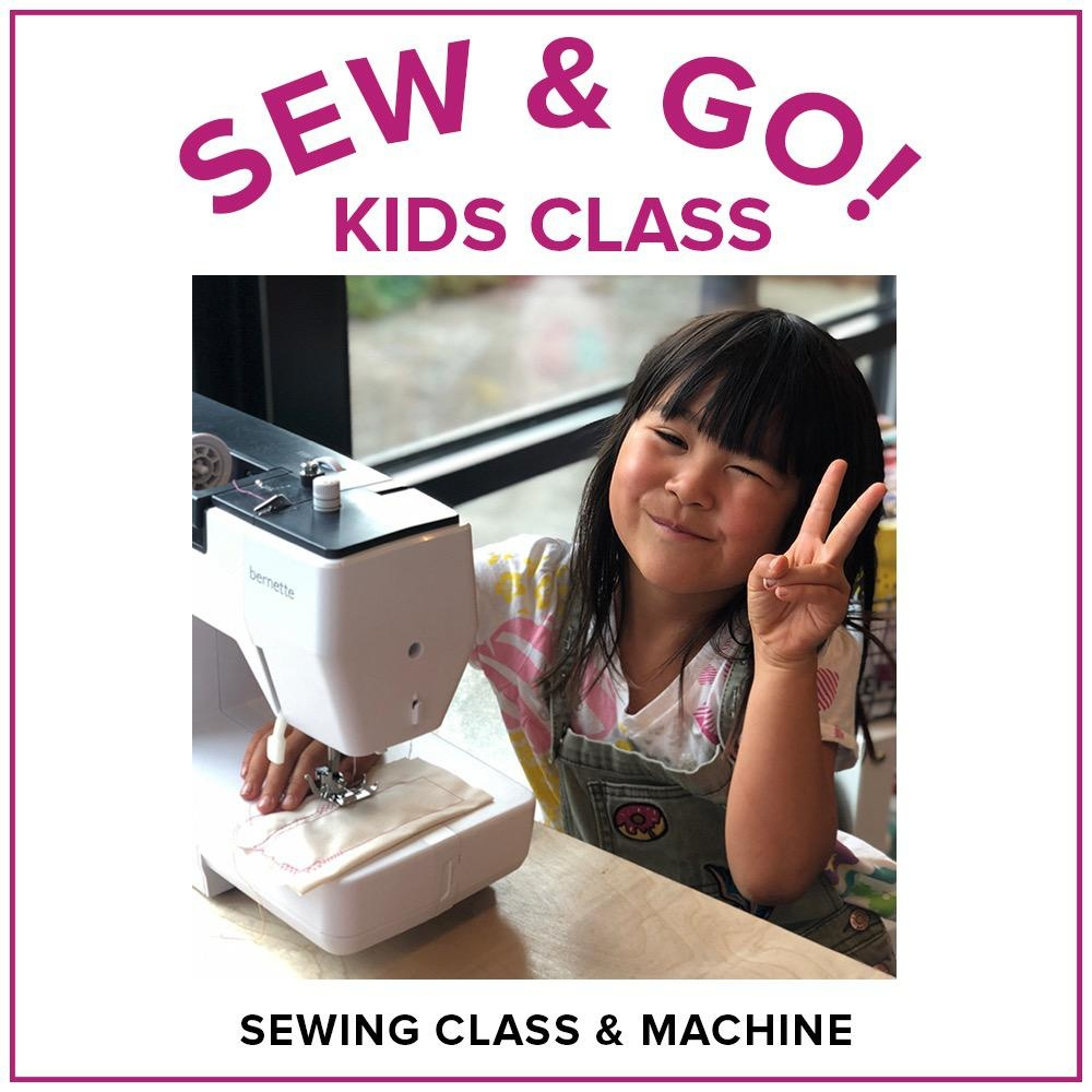 Modern Domestic Sew & Go! Kids Sewing Camp (includes Bernette Sew & Go Sewing Machine!), Alberta St Store,  Sunday, December 29, 10am-1pm