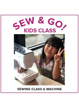 Modern Domestic Sew & Go! Kids Sewing Camp (includes Bernette Sew & Go Sewing Machine!), Lake Oswego Store, Tuesday, December 31, 10am-1pm