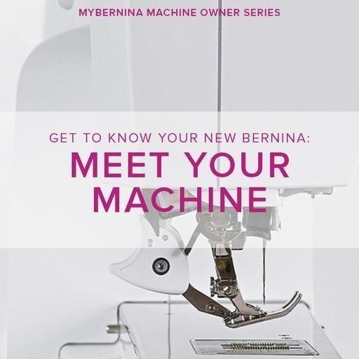 Modern Domestic MyBERNINA: Class #1, Meet Your Machine, Alberta St. Store, Monday, November 4, 10am-12pm
