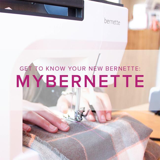 Modern Domestic MyBernette: Machine Owner Class, Alberta St Store, Sunday, November 3, 2-4pm