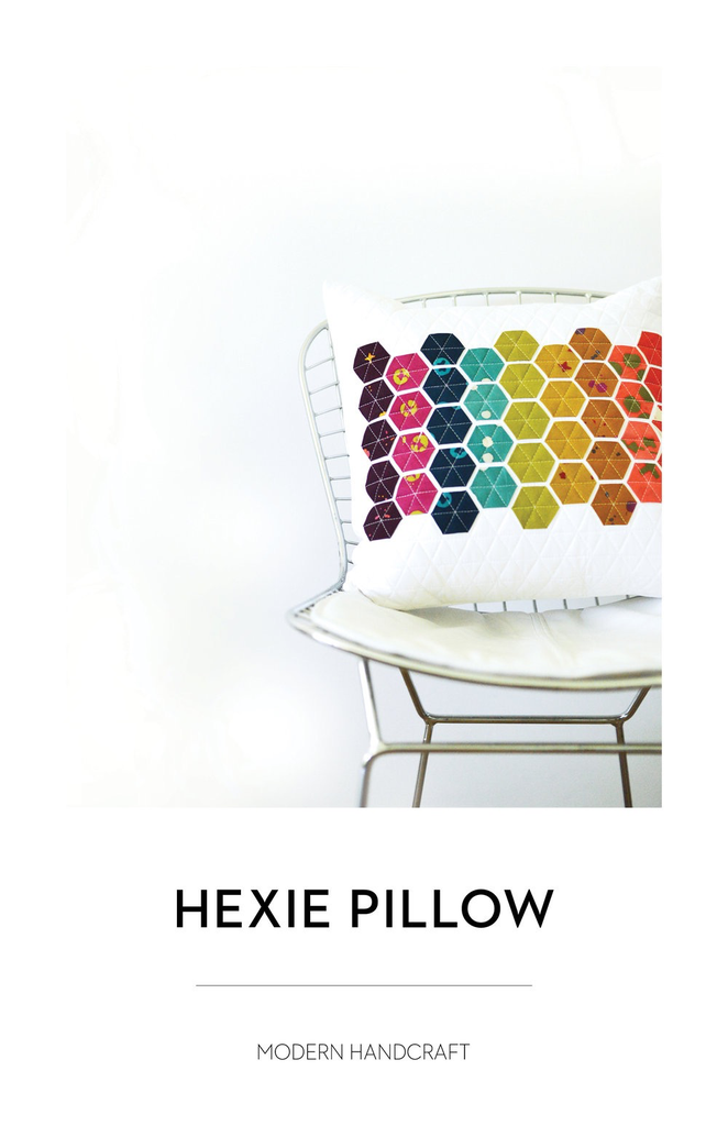 Modern Handcraft Modern Handcraft Hexie Pillow Pattern