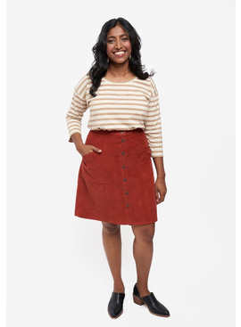 Grainline Patterns Reed Skirt Pattern by Grainline Studio