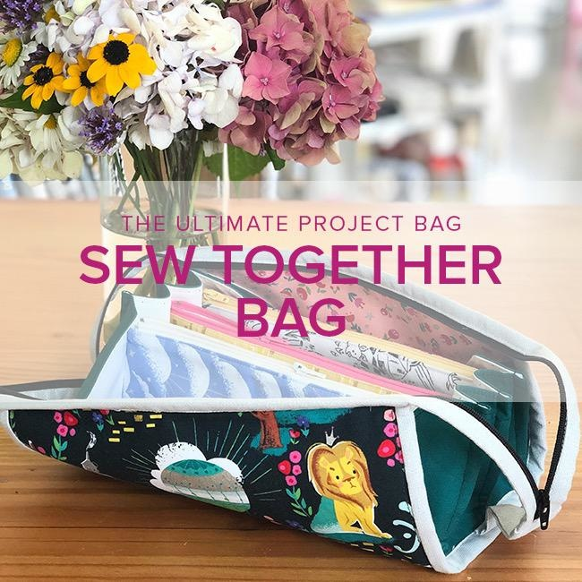Wendy Tharp Sew Together Bag, Lake Oswego Store, Tuesday & Wednesday, December 10 & 11, 6-9pm