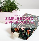 Erica Horton Learn to Sew: Boxed Zipper Pouch, Alberta St. Store, Wednesday, January 8, 6-9pm