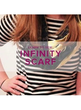 Karin Dejan Learn to Sew: Infinity Scarf, Alberta St. Store, Tuesday, December 3, 6-9pm