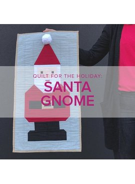 Wendy Tharp Santa Gnome Wallhanging, Lake Oswego Store, Monday & Tuesday, December 2 & 3, 6-9pm