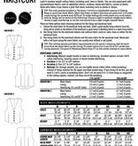 Thread Theory Belvedere Waistcoat Vest pattern