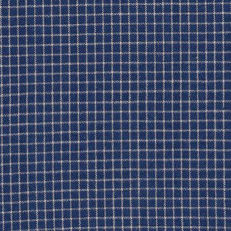 Diamond Textiles Americana Blue / Cream